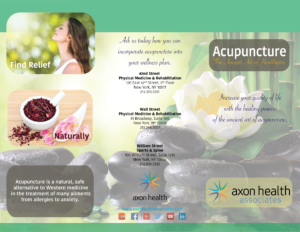Acupuncture Brochure Outside